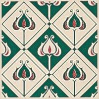 Baroque grün - Minton Hollins