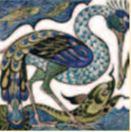 De Morgan - Vogel- englische Fliesen