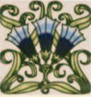 Fanfare - Einsatzblaugrün - Minton Hollins