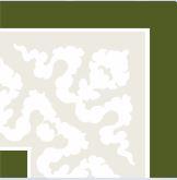 Hand Decorated Flooring - Paisley grün- englische Fliesen