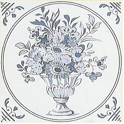 Delft Nr2 - englische Fliesen