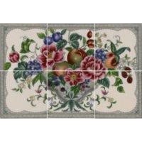 Kew 6-teilig elfenbein Farbe - Minton Hollins