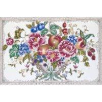 Kew 6 teilig weiße Farbe - Minton Hollins - englische Fliesen