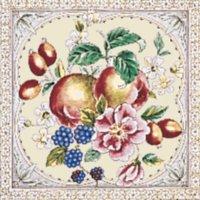 Kew Apfel elfenbein Rose - Minton Hollins