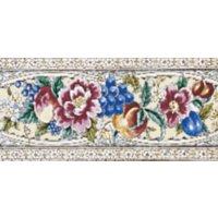 Kew Bordüre elfenbein Farbe - Minton Hollins