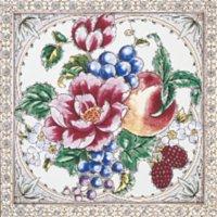 Kew Rose weiß - Minton Hollins