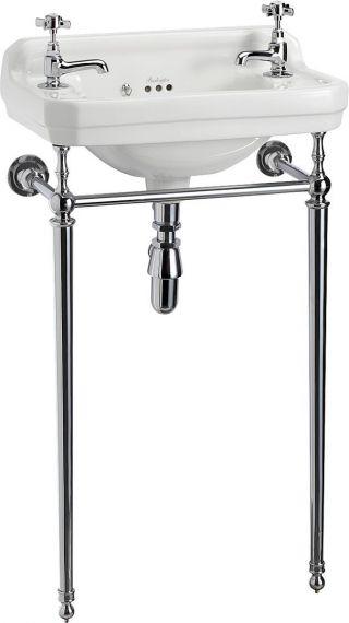 Waschbecken Burlington Edwardian für Gästebad mit Waschtisch