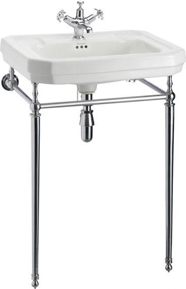 Groß - Waschbecken Burlington Victorian mit Waschtisch