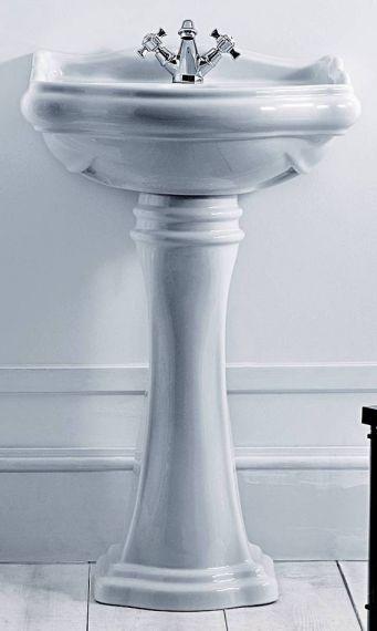 Klein - Retro Waschbecken mit Standfuß