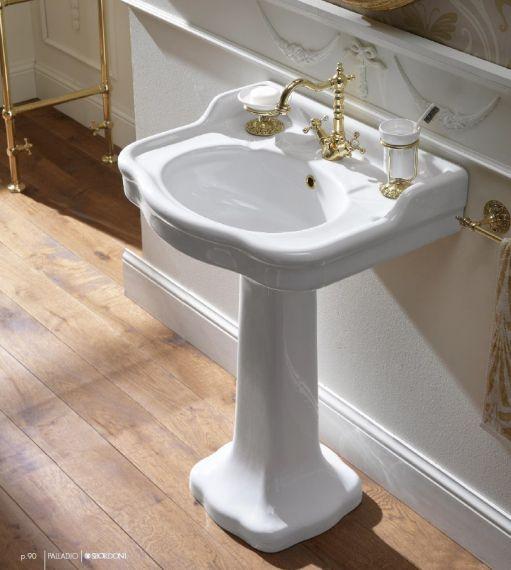 Waschbecken Palladio auf Standfuß - 65cm