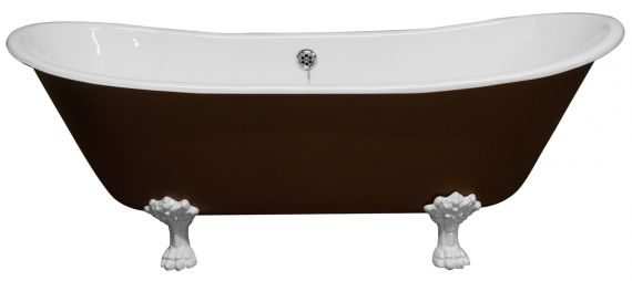 Gusseisen Badewanne Deep Double Ended