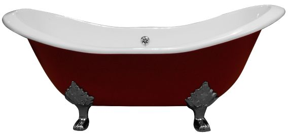 Gusseisen Badewanne Raised Double Ended