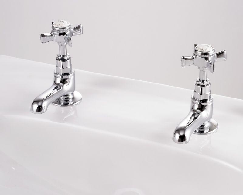 Edwards & Co Waschbecken Wasserhahn (kurzes Abflussrohr)