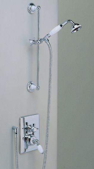 unterputzte englische Dusch Armatur mit Handbrause
